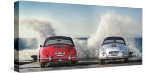 Ocean Waves Breaking on Vintage Beauties by Gasoline Images