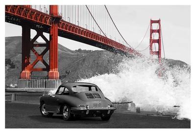 Under the Golden Gate Bridge, San Francisco (BW)
