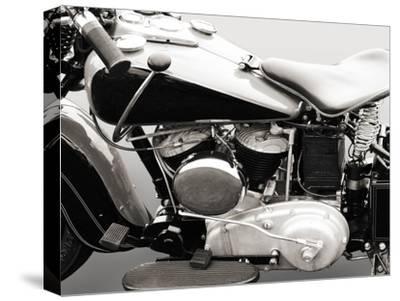 Vintage American V-Twin engine (detail) by Gasoline Images