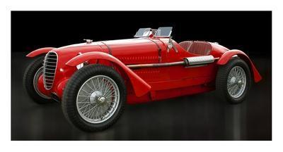 Vintage Italian race-car