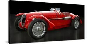 Vintage Italian race-car by Gasoline Images