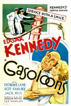 Gasoloons, Edgar Kennedy, Florence Lake, 1936