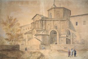 Basilica Di San Vitale, Ravenna by Gaspar van Wittel