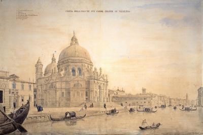 Chiesa Della Salute, Grand Canal, Venice