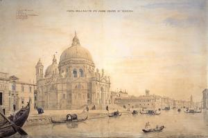 Chiesa Della Salute, Grand Canal, Venice by Gaspar van Wittel