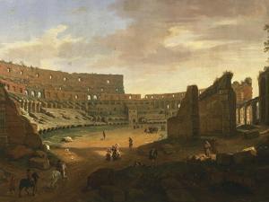 Interior of Colosseum by Gaspar van Wittel