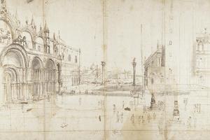 Little Saint Mark's Square, Venice by Gaspar van Wittel