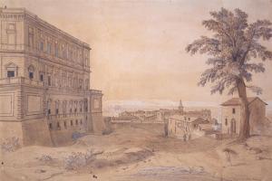 The Palazzo Farnese at Caprarola by Gaspar van Wittel