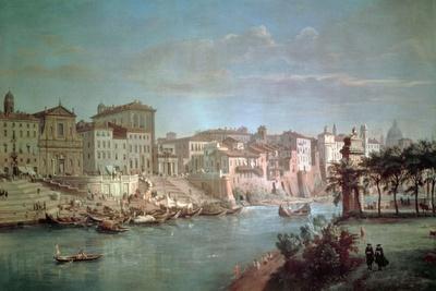 The Tiber to Porto Di Ripetta