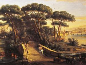 View of Florence's Oltrarno from Cascine by Gaspar van Wittel