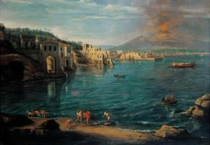 View of Naples from Posillipo by Gaspar van Wittel