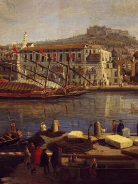 View of Naples by Gaspar van Wittel