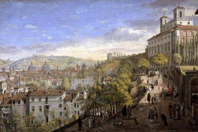 View of the Villa Medici, Rome