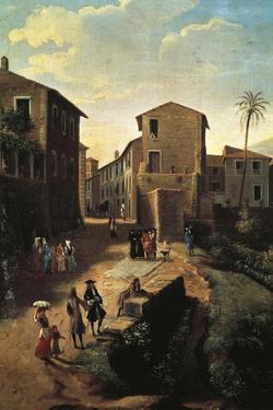 View of Tivoli by Gaspar van Wittel