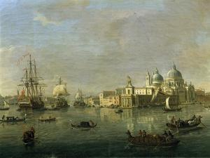 View of Venice with Giudecca and Customs House by Gaspar van Wittel
