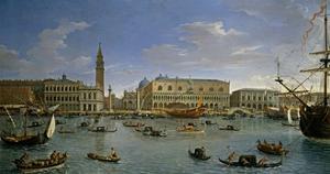 Vista de Venecia desde San Giorgio, 1697 by Gaspar van Wittel