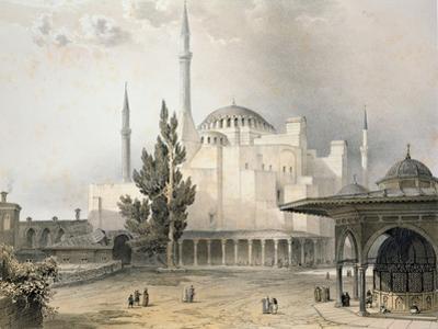 Courtyard of Hagia Sophia