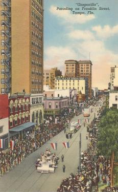 Gasparilla Parade, Tampa, Florida