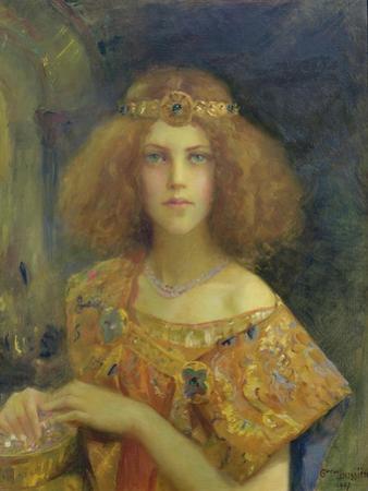 Salammbo, 1907 by Gaston Bussiere