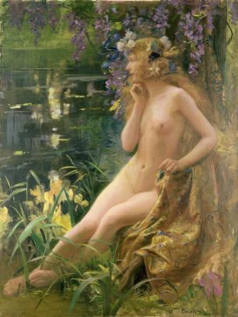 Water Nymph by Gaston Bussiere