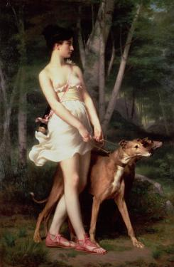 Diana the Huntress by Gaston Casimir Saint-Pierre