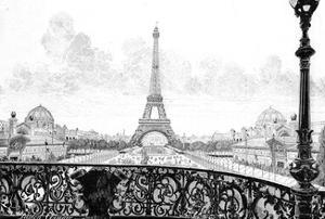 Paris, France - La Tour Eiffel by Gaston Coindre
