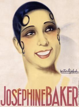 Josephine Baker by Gaston Girbal