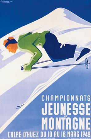 Championnats Jeunesse et Montagne by Gaston Gorde