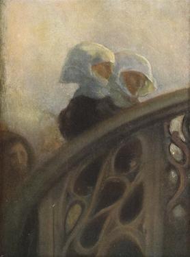 A Study of Nuns, c1896 by Gaston la Touche