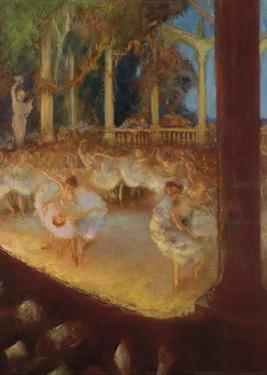 Ballerinas in the Theatre by Gaston La Touche