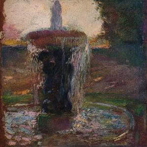 'Dans Le Parc De St. Cloud', c1905 by Gaston la Touche