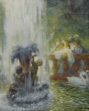 Gallant Party by Gaston La Touche