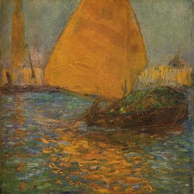 'La Voile Jaune', c1905