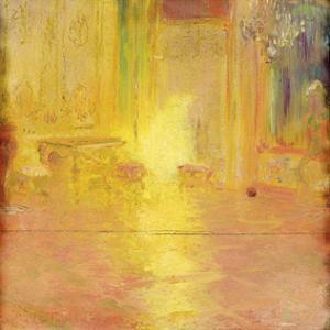 The Yellow Salon by Gaston La Touche