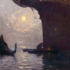 Venice in Moonlight by Gaston La Touche