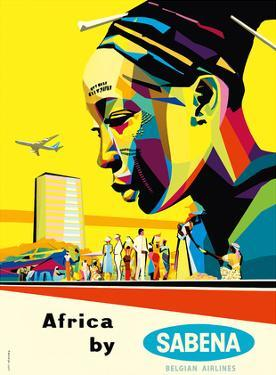 Africa by Sabena - Sabena Belgian World Airlines by Gaston van den Eynde