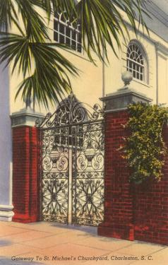 Gateway to St. Michael's Church, Charleston, South Carolina