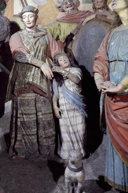 Male Figure, Detail from Statues by Gaudenzio Ferrari