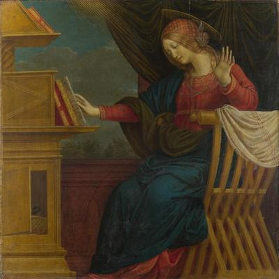 The Virgin Mary (Panel from an Altarpiece: the Annunciatio), before 1511