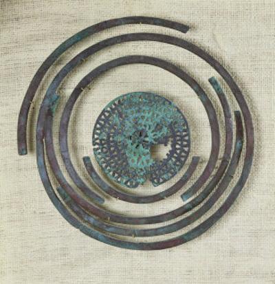 Jewelry Known as the Bouclier de Pudeur, Cassard Tumulus at Flagey, Hallstatt Civilisation