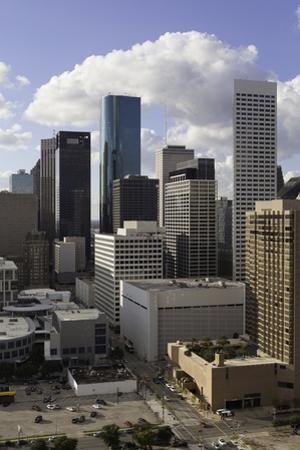 Downtown City Skyline, Houston, Texas, United States of America, North America by Gavin