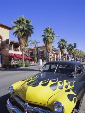 1950s Car on Main Street, Palm Springs, California, USA by Gavin Hellier