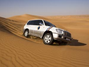 4X4 Dune-Bashing, Dubai, United Arab Emirates, Middle East by Gavin Hellier