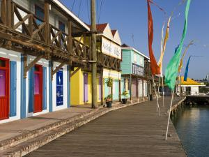 Antigua, Heritage Quay Shopping District in St, John's, Caribbean by Gavin Hellier