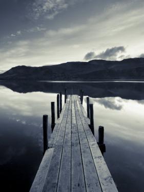 Brandelhow Bay Jetty, Derwentwater, Keswick, Lake District, Cumbria, England by Gavin Hellier