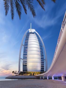 Burj Dubai Hotel, Dubai, Uae, United Arab Emirates by Gavin Hellier