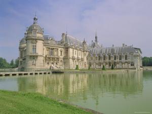 Chateau De Chantilly, Chantilly, Oise, France, Europe by Gavin Hellier