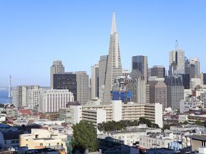 City Skyline, San Francisco, California, United States of America, North America by Gavin Hellier