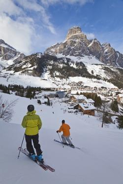 Corvara Village in the Sella Ronda Ski Area by Gavin Hellier