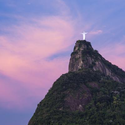 Cristo Redentor (Christ Redeemer) statue on Corcovado mountain in Rio de Janeiro, Brazil, South Ame by Gavin Hellier